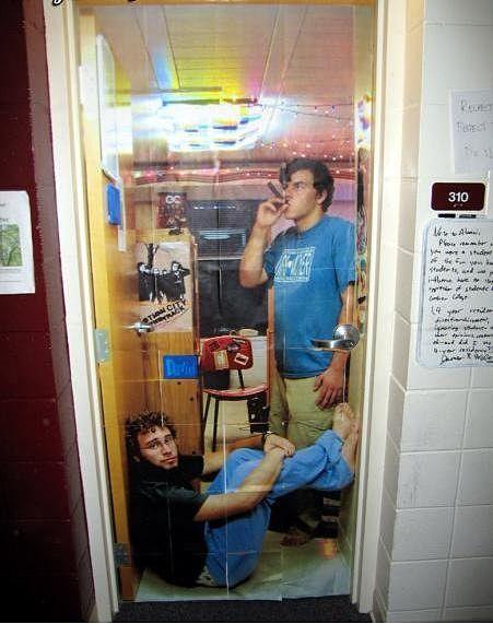 Decorating Ideas > Your Future Dorm Room  Admit This! ~ 102018_Dorm Room Door Ideas