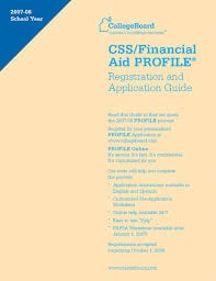 css profile help A presentation highlighting the financial aid process including general information about fafsa and profile, answers to frequently asked questions, and more.