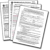 finaid forms generic