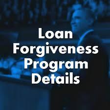 loan forgiveness details