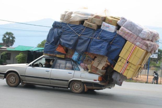 Car Loads In A College Dorm